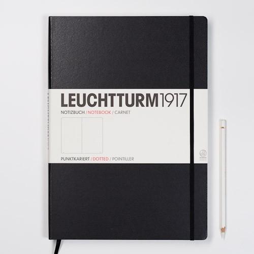 Hardcover Notitieboek Leuchtturm1917 Dotted Master SLIM - A4 [321]