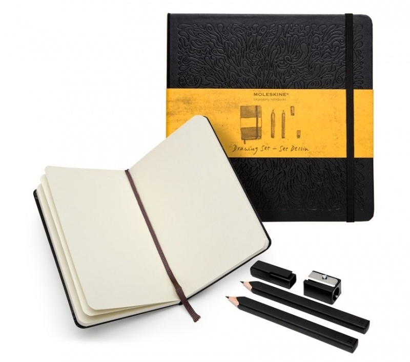 Moleskine cadeaubox Drawing Box luxe teken- en schets kit [1629]