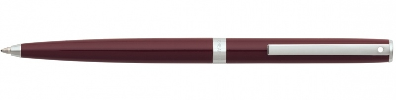 SHEAFFER Sagaris BALPEN Glossy Bordeauxrood met Chroom [2269]