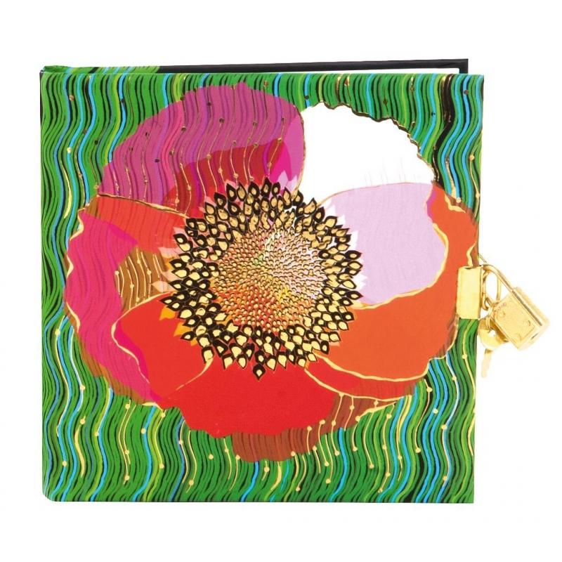 Turnowsky Pop-up Poppy dagboek met slot