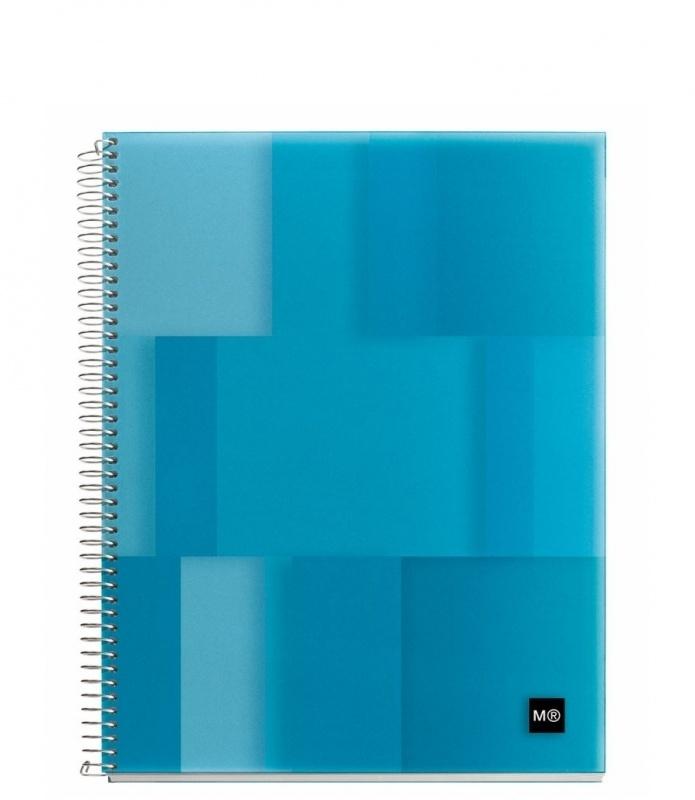 Miquelrius MR Notebook4 Gelinieerd A5 Lumine Blue