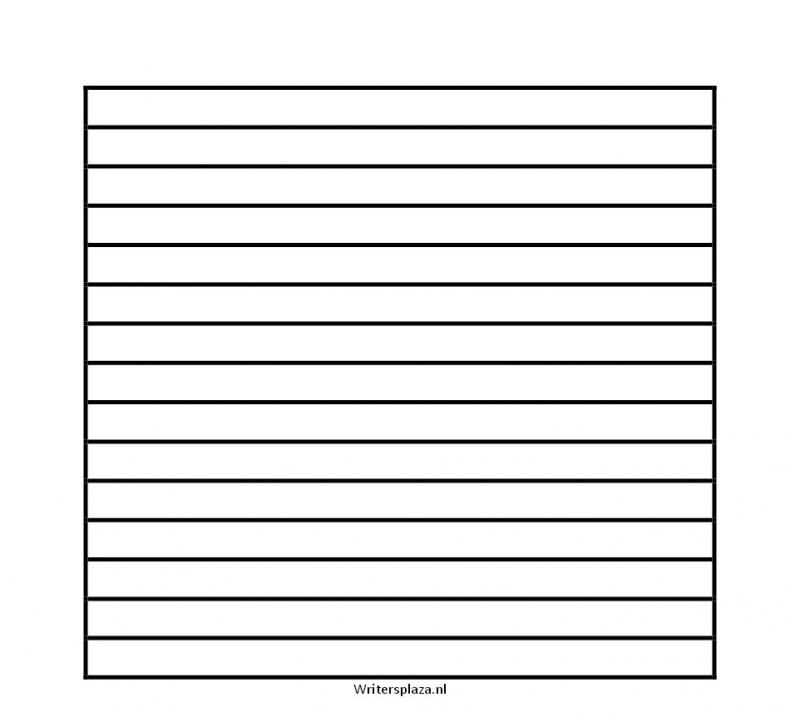 Lijnenvel voor blanco dagboek  10mm vierkant [download]