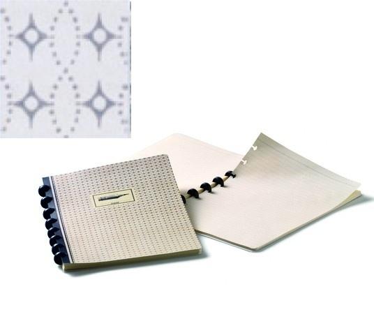 Atoma Brepols Chambord A5 notitieboek speelkaartmotief blauw star [2045]