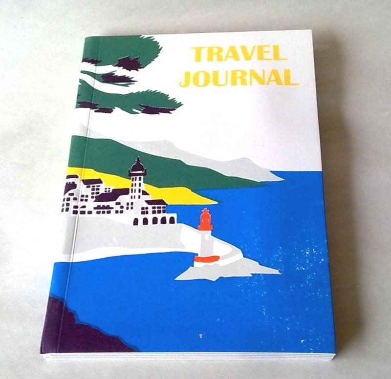 SUKIE Travel Journal  Lighthouse Reisdagboek met envelopjes [1527]