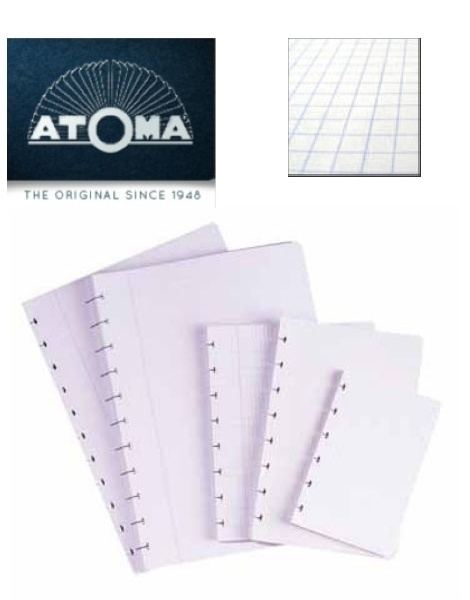 Atoma navulling bladen geruit A4 [2049]