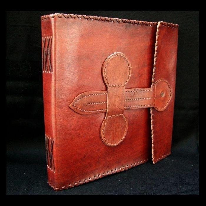 Paul-Francis lederen Schetsboek,Dagboek of Gastenboek VERONA  23x23 cm