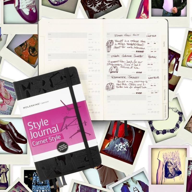 Moleskine Notitieboek Passion Journal STYLE mode- en kledingdagboek  [1637]