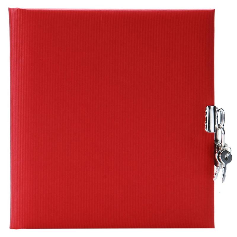 Goldbuch Seda Rood dagboek met slot