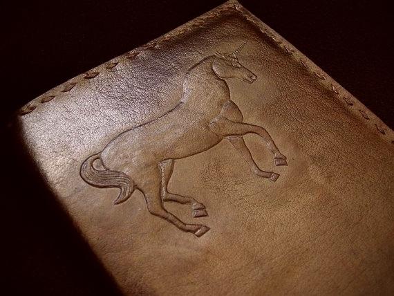 Paul-Francis Leren boekomslag A5 Eenhoorn Unicorn met notebook