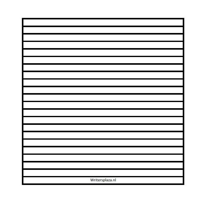 Uitgelezene Lijnenvel voor blanco dagboek 7mm vierkant [download] | DOWNLOADS LD-23