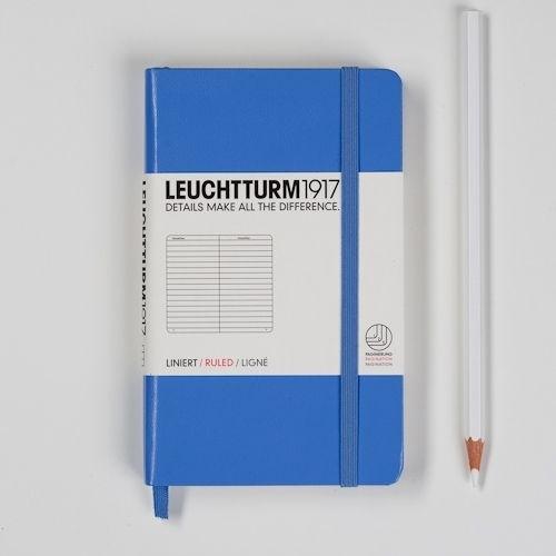 Leuchtturm1917 Colour notitieboek Gelinieerd 9 x 15 cm (Pocket) cornflower [1279]