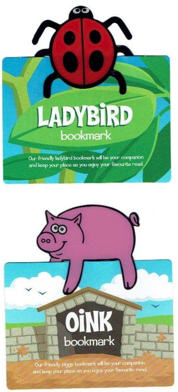 Grappige Clip-on Boekenlegger BAA bookmark  - keuze uit verschillende dieren