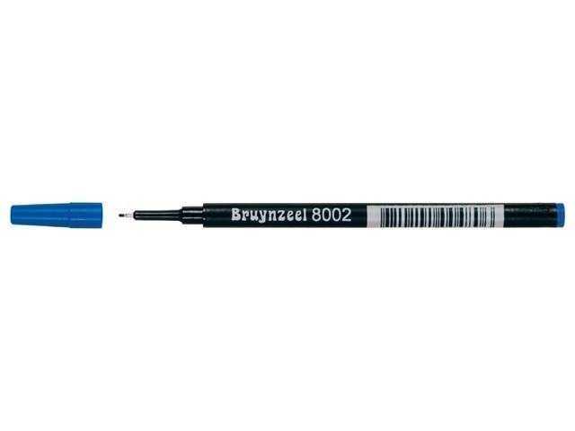 Bruynzeel Spits fineliner NAVULLING zwart rood groen of blauw