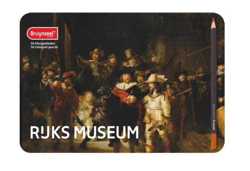 Bruynzeel Grote meesters - 50 Kleurpotloden [1049]