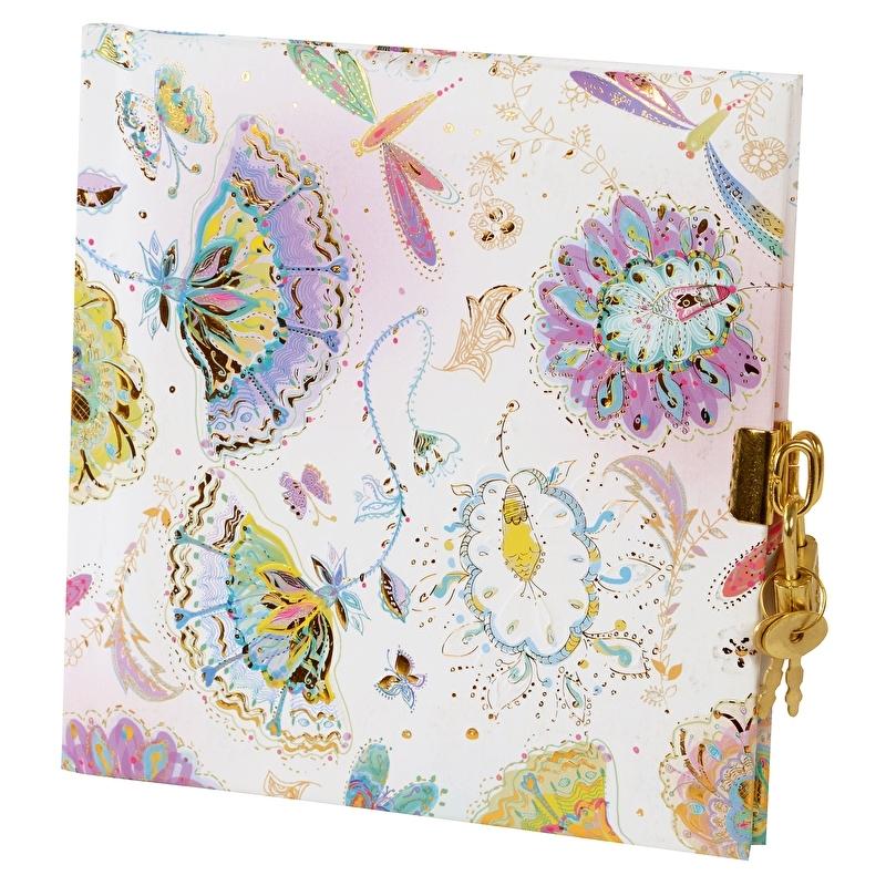 Turnowsky Silver Moon Bright dagboek met slot