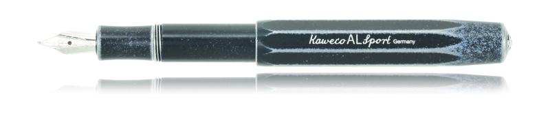 KAWECO Sport ALUMINIUM STONEWASHED Black vulpen M