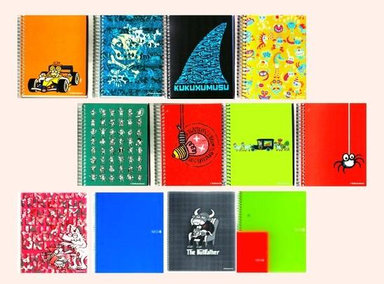 A6 notitieboeken 50 % korting