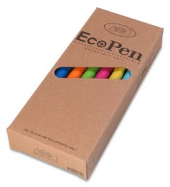 Milieubewuste pennen