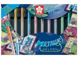 Metallic gelpennen