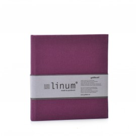 Dagboekje met linnen kaft