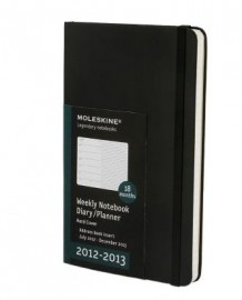 Weekly notebook Hardcover large