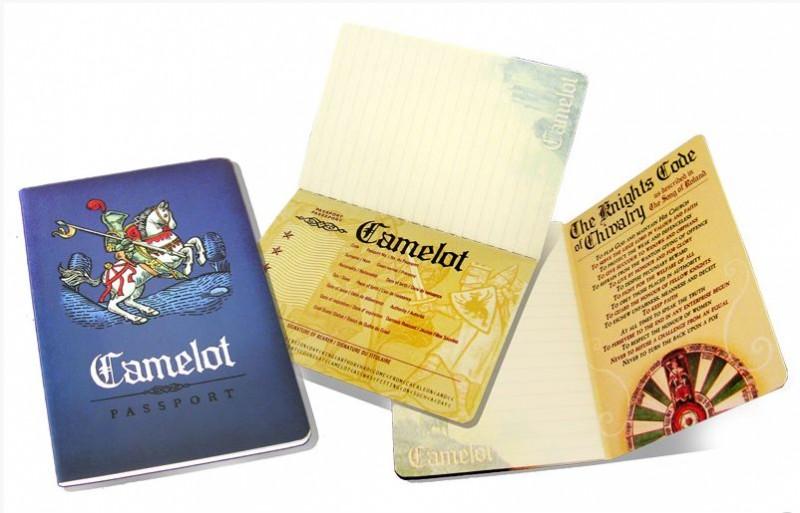 Paspoort Camelot Notitieboek