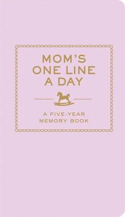 Vijfjarendagboek voor jonge moeders
