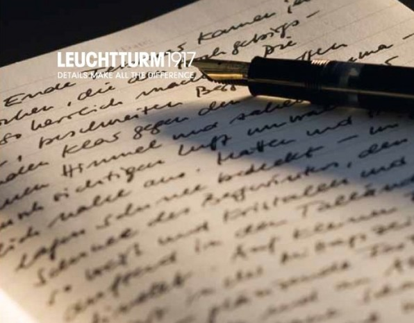 Leuchtturm maakt schrijven aangenaam