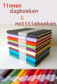 Notitieboeken in linnen
