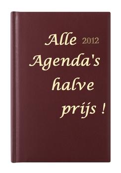Alle agenda`s 2012 nu  voor de halve prijs