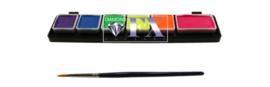 Palet Neon extra klein 1x6 5x3 gram DFX FSM6NSM