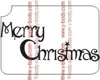 Merry Christmas productcode 807C