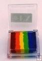 Rainbow SP 5  klein vierkant  Rainbow Flabergasted ( rood/oranje/geel/lichtgroen/blauw/paars)