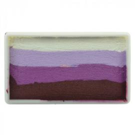 Rainbow SP- 30 gram Purple Rose (wit/lila/paars/bruin)