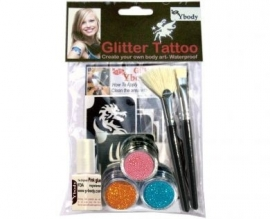 Glittertattoo Teaserset girls productcode girls