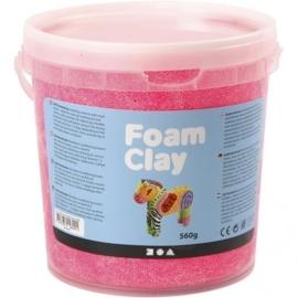 Foam Clay emmertje 560 gram neon rose