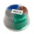 Set Boy 4x 80 gram blauw bruin zilver groen