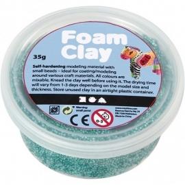 Foam Clay potje 35 gram donkergroen