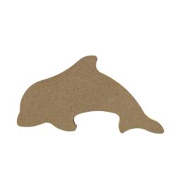 MDF dolfijn 10 cm