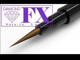 DFX eyeliner-pen zwart semi permanent 24 h