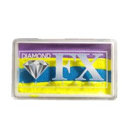 Rainbow SP65 30 gram Neon Mint ( paars/geel/blauw/geel)