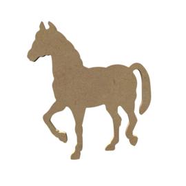 MDF paard 10 cm