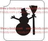 Christmas Snowman      Product Code: 804C