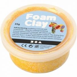Foam Clay potje 35 gram geel
