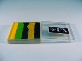 Rainbow SP3 groot  50 ml  Cucumber Rage ( zwart/goud/d. groen/l.groen/geel)