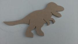 MDF t- rex dino  15 cm 6 mm dik