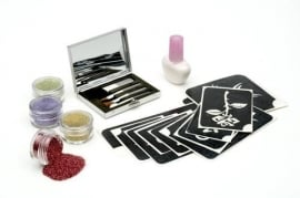 Glitter tattooset Lady      Product Code: glitl