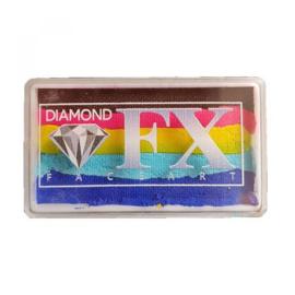 Rainbow SP59 30 gram Bright Rainbow (bruin/rose/geel/lichtblauw/blauw)