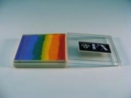Rainbow SP4 groot 50 ml  Blurred Lines ( fuchsia/goudgeel/geel/zeegroen/pastelblauw/lavendel)