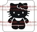 Sjabloon Hello Kitty met lijfje productcode 725G